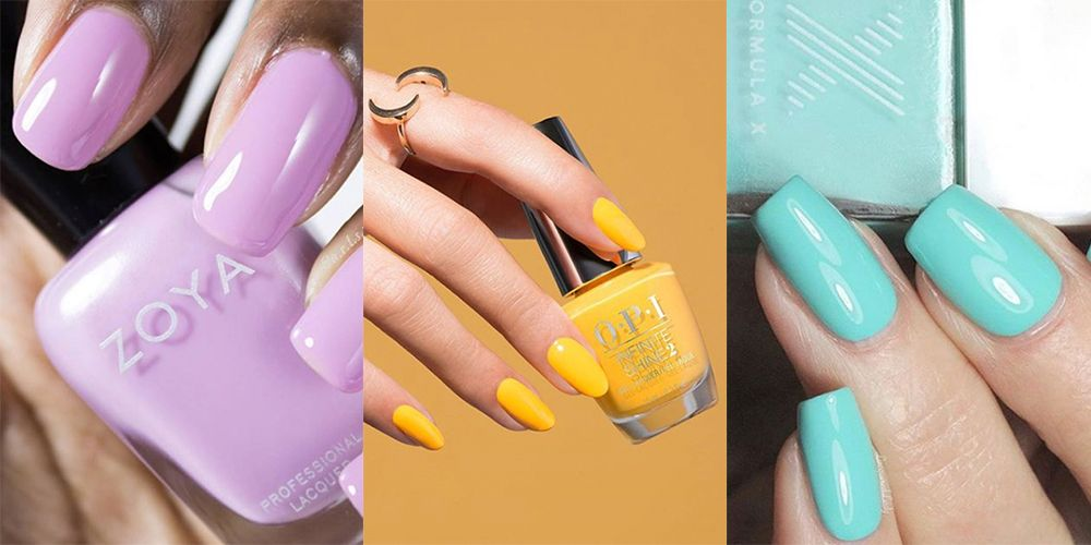 8 Best Spring Nail Colors for 2018 - Coolest Spring Nail Polish Shades