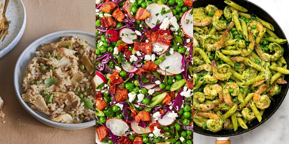 Spring Pea Recipes You'll Be Reaching For Again And Again