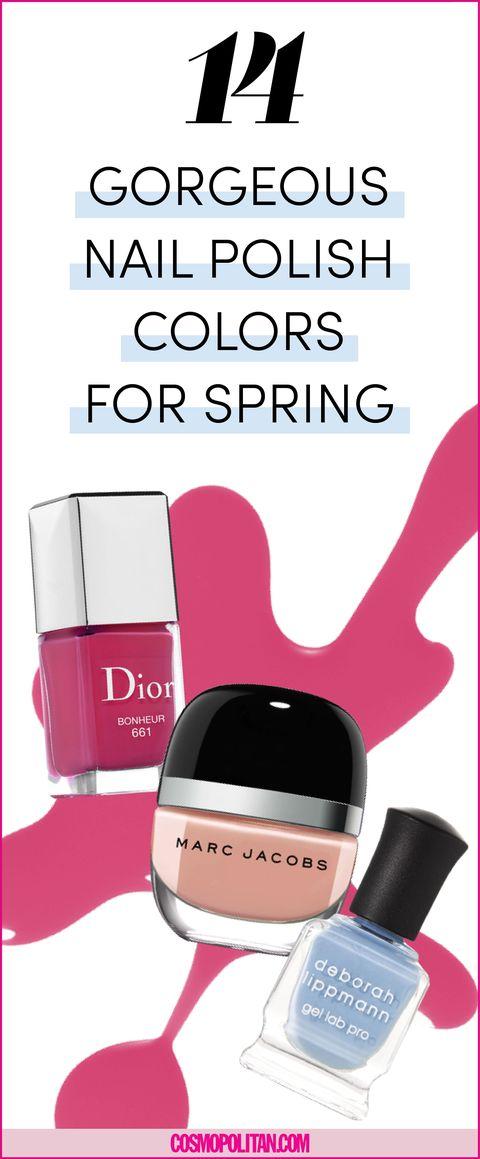 14 Spring Nail Colors for 2018 - Nail Polish You\'ll Be Wearing All ...