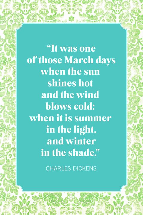 spring quotes charles dickens