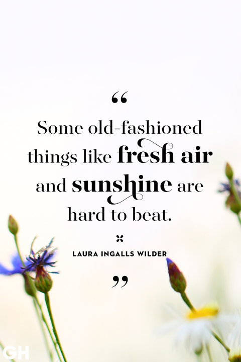 happy spring quotes   sayings about spring and flowers spring quotes laura ingalls wilder fresh air sunshine