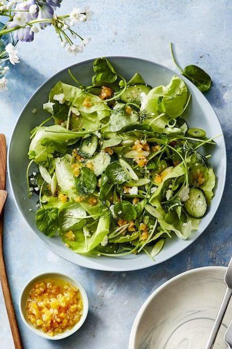 spring salads - spring salad