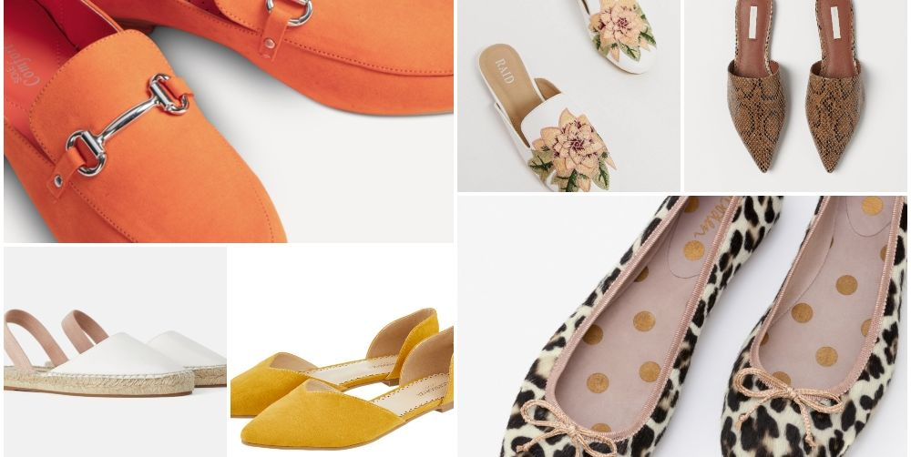 15 spring flat shoes to snap up now, from just £16.50