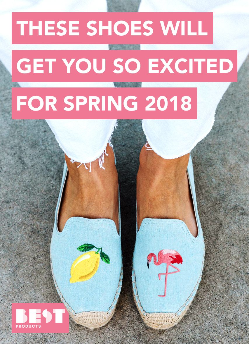 The spring best shoes forecasting dress in summer in 2019