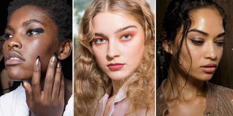 Spring Summer 2018 Hair And Makeup Trends - Avant-garde-makeup-themes