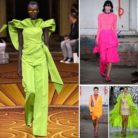 Весна / лето 2019 модные тенденции: неоновые