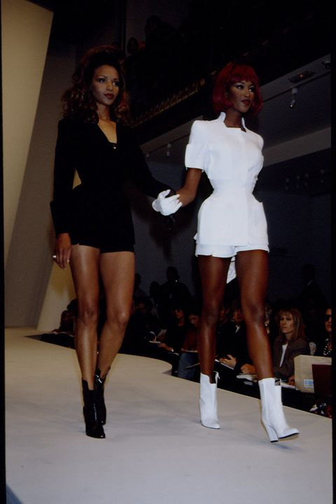 SPRING/SUMMER 94 PRET A PORTER COLLECTION: MUGLER