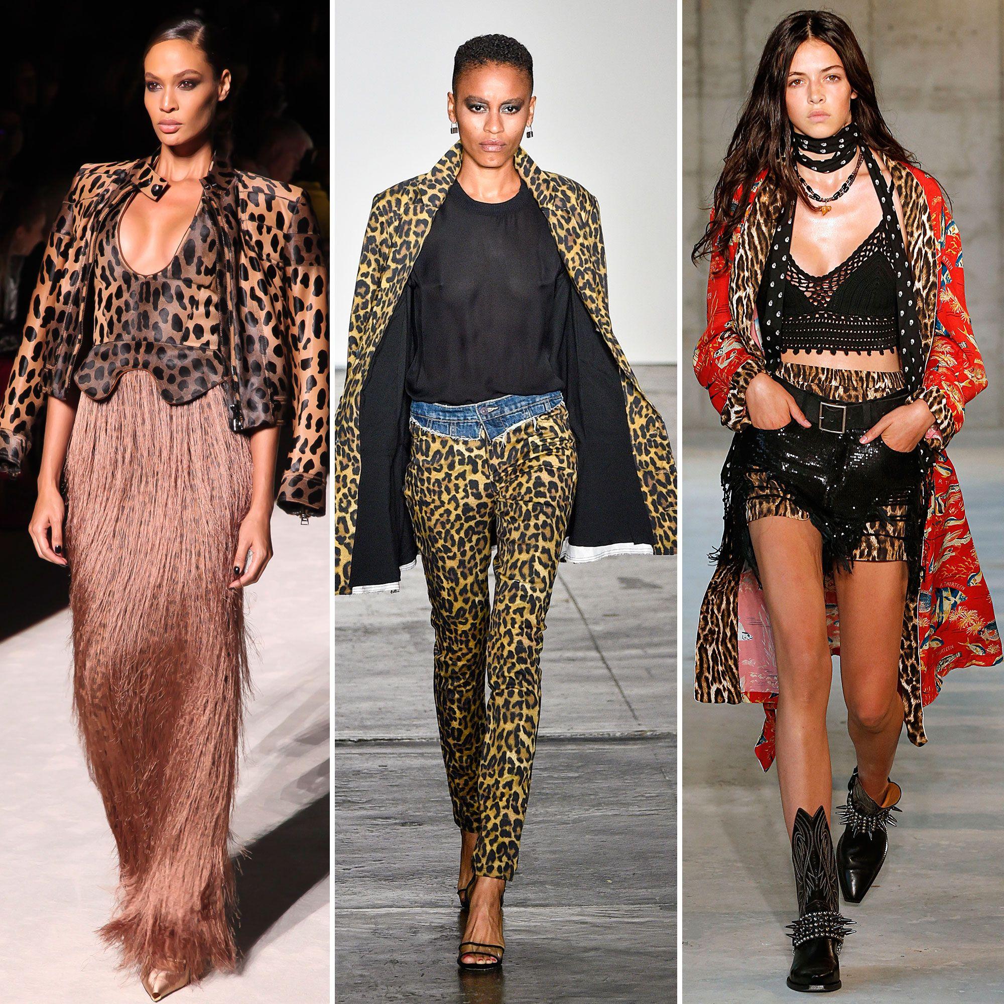 Spring/summer fashion trends 2019 - animal print