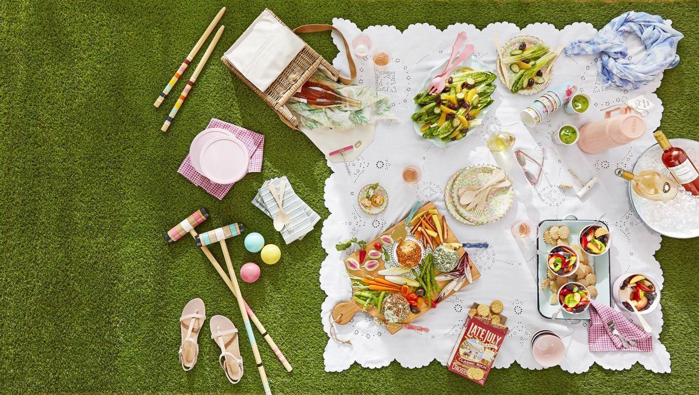 Garden Blooms Lunch Napkins 18 Pack Floral Spring Summer Birthday