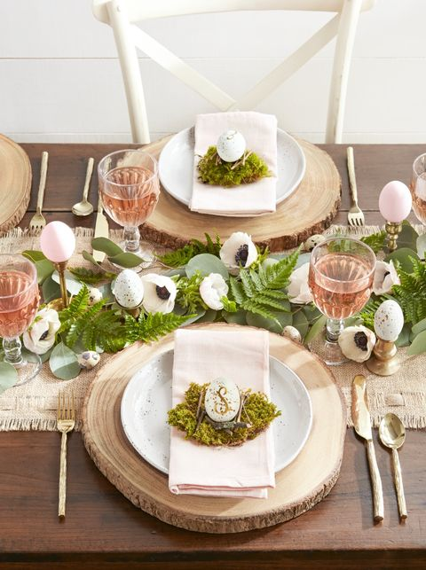 spring themes woodland easter brunch