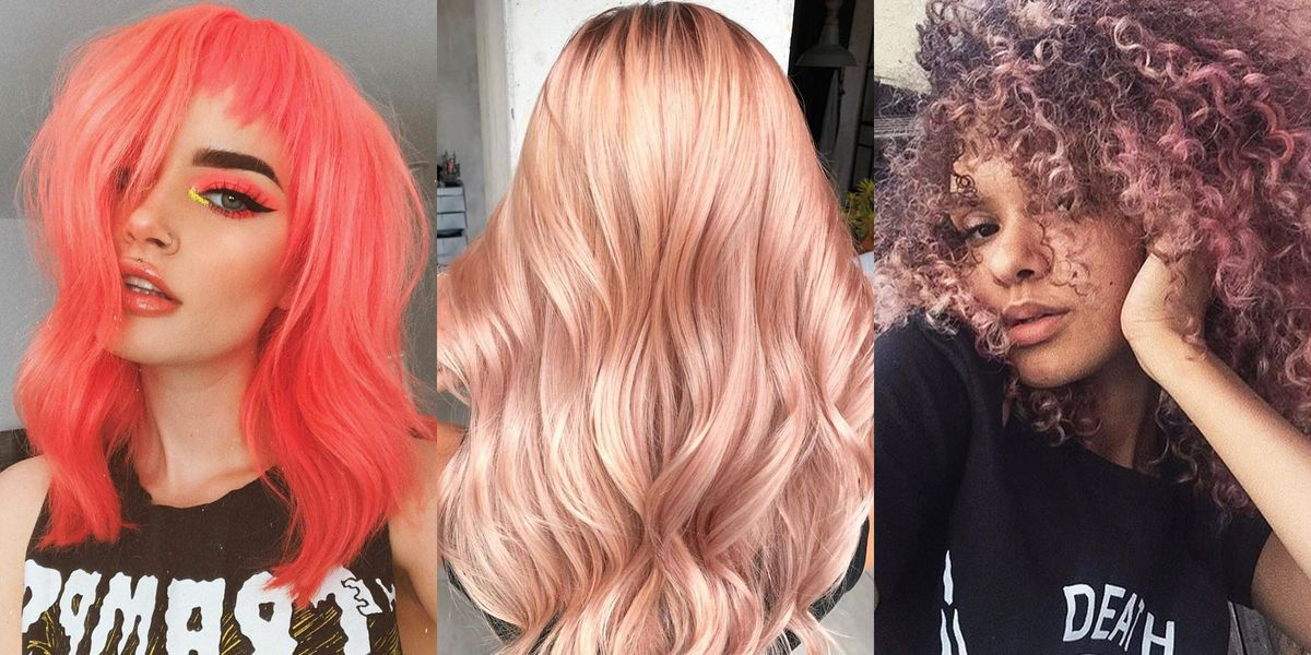 13 Prettiest Spring Hair Colors 2019 New Hair Dye Trends For Spring