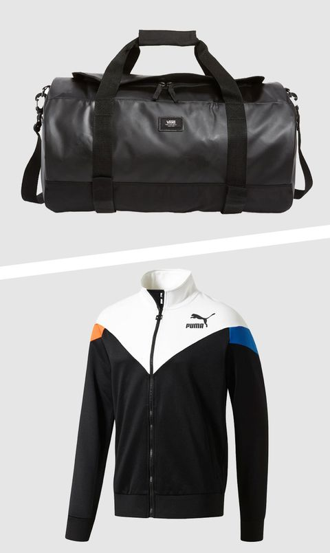 Product, Collar, Sleeve, Bag, White, Style, Luggage and bags, Fashion, Black, Electric blue,