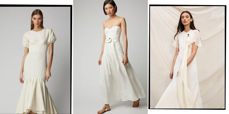 Modern spring wedding dress - modern wedding dress 2019
