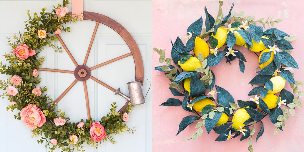 24 Spring Wreaths That Bring Color and Cheer to Your Front Door