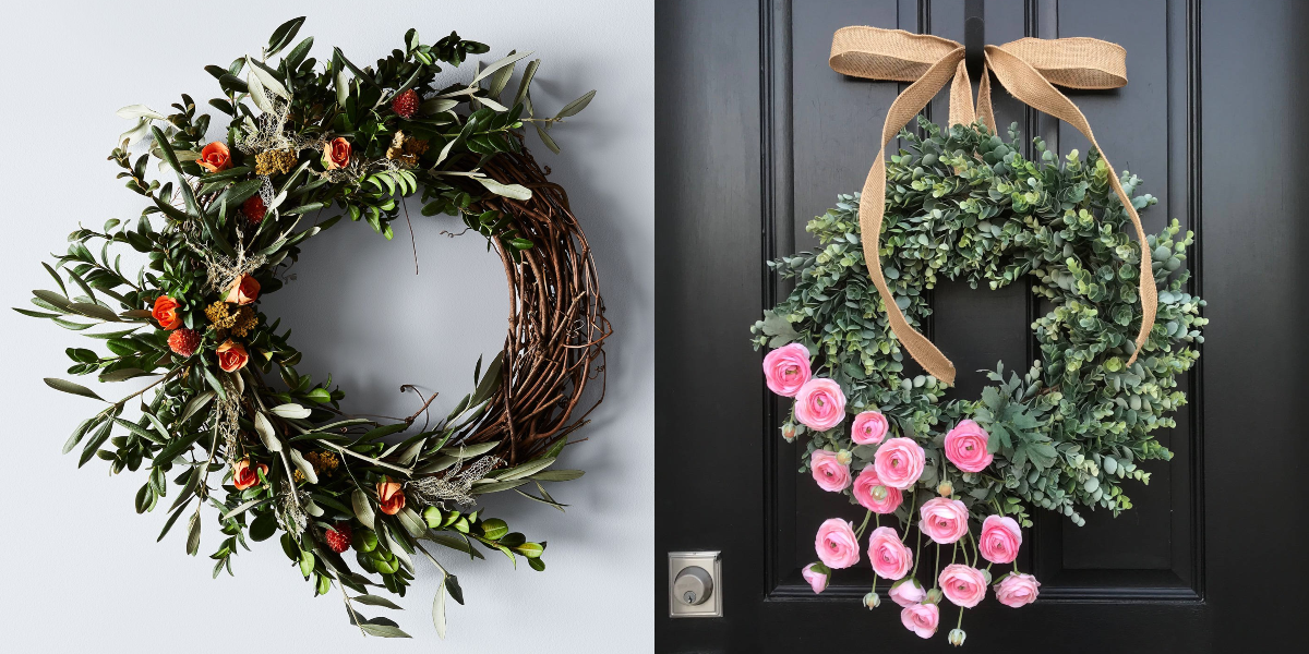 35 Spring Wreaths Easter Spring Door Decorations Ideas