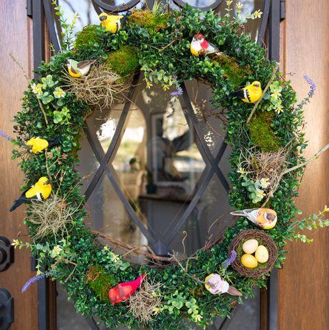 Spring Wreath - Bird Wreath