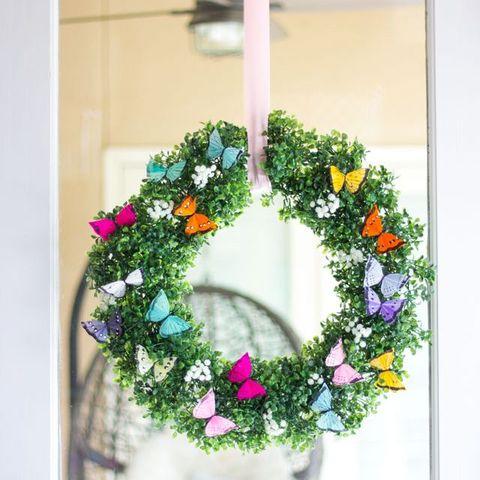 Spring Wreath - Butterfly Wreath
