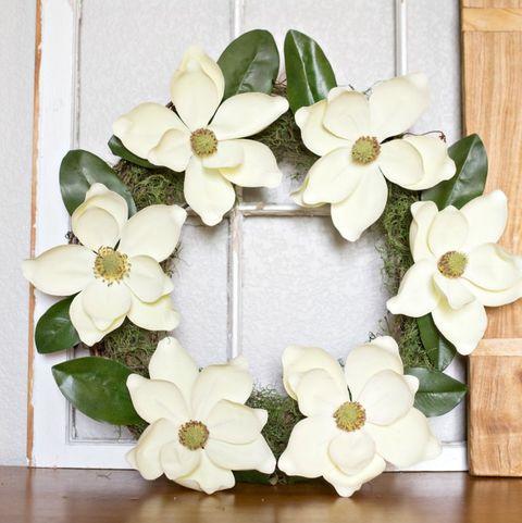 Spring Wreath - Magnolia Wreath