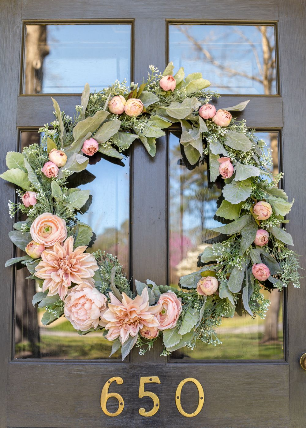 24 Diy Spring Wreaths Ideas For Spring Front Door Wreath Crafts