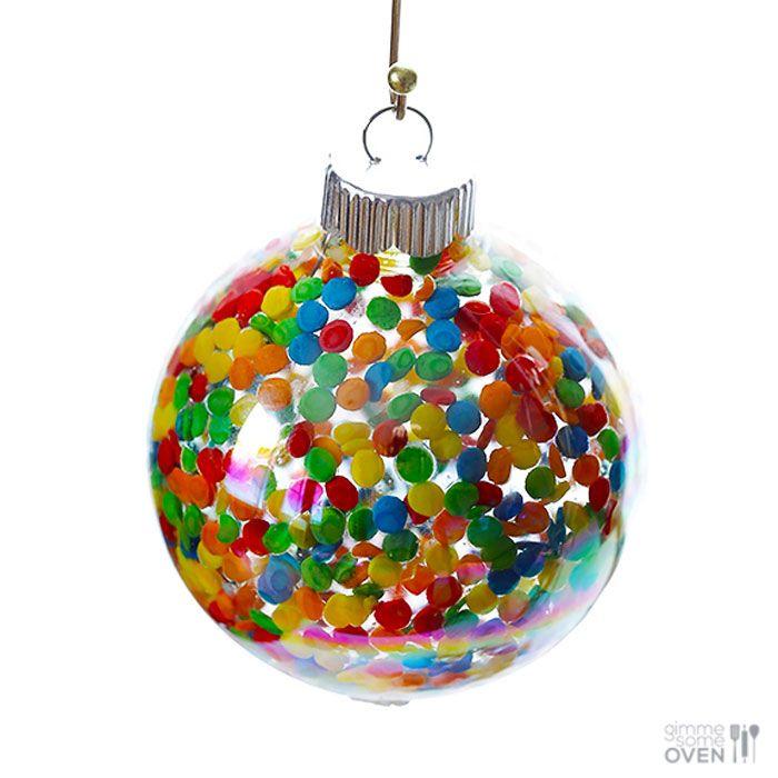 Diy Sprinkle Ornaments: 59 Unique DIY Christmas Ornaments