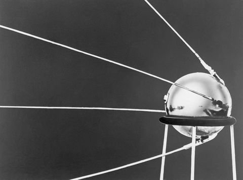 Sputnik I Satellite