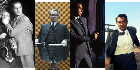489b8bd809 Richard Hannay Robert Donat Gary Oldman George Smiley Sean Connery James  Bond Cary Grant Roger Thornhill