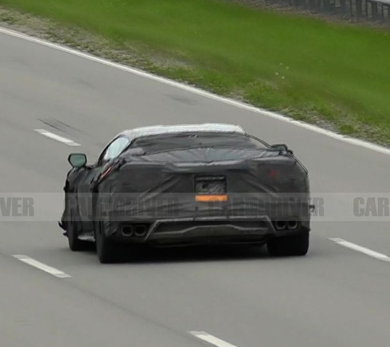 Listen to the C8 Corvette Z06 Do Repeated Launch-Control Starts
