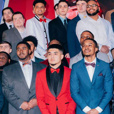 Event, Suit, Premiere, Team, Formal wear, Smile, Management,