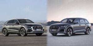 Audi SQ7 and SQ8