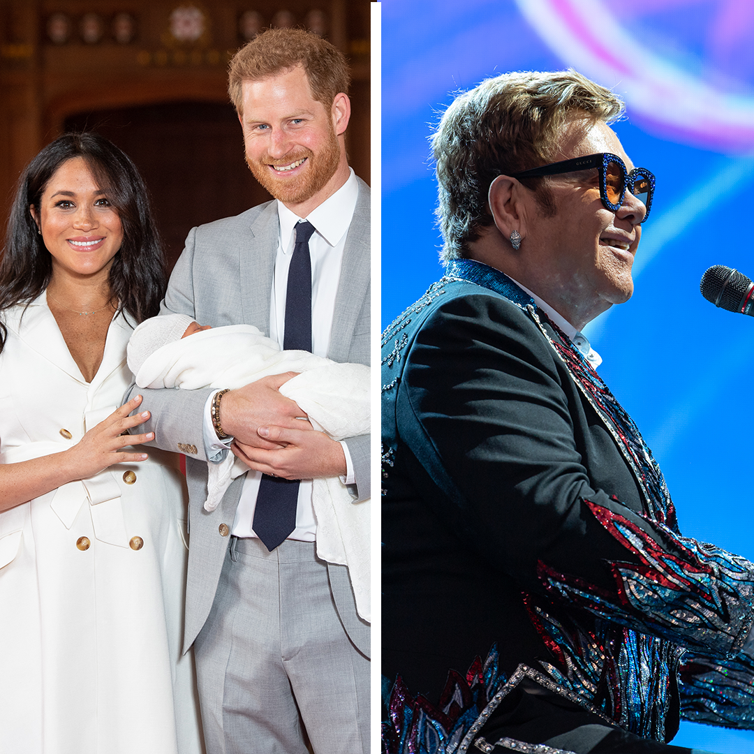 Elton John Clarifies Why He Let Prince Harry, Meghan Markle, and Archie Stay at His Home in Nice, France