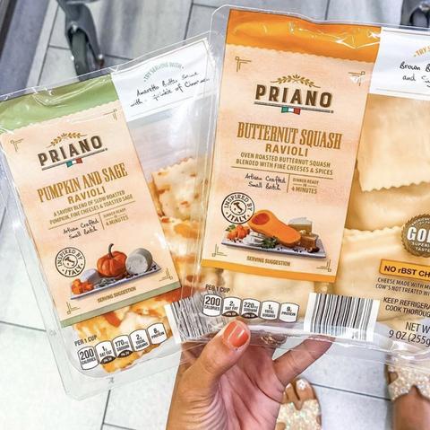ravioli packages