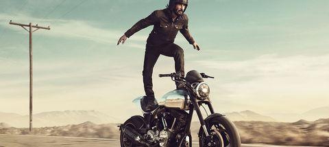 Keanu Reeves in Squarespace Super Bowl ad