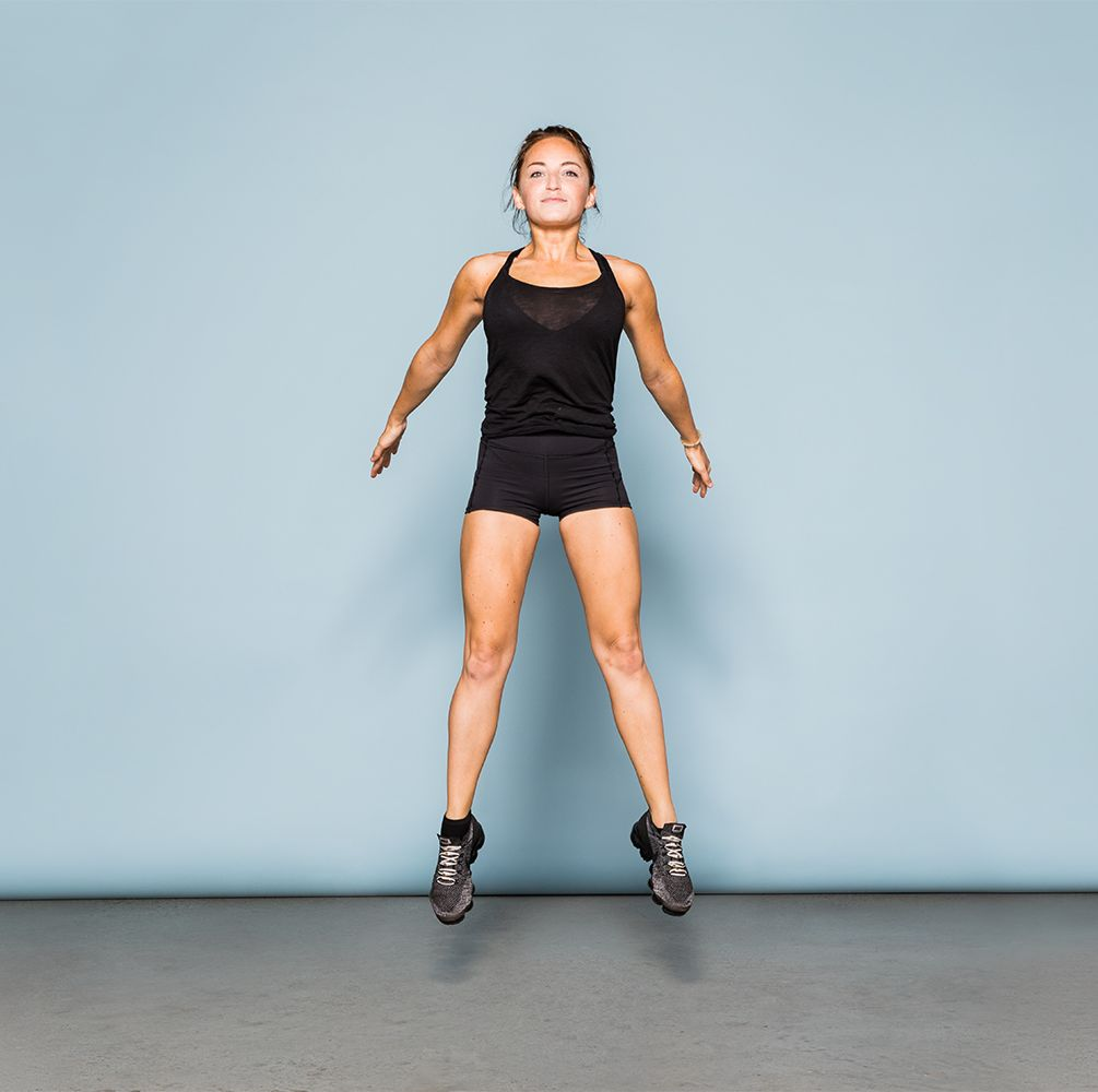 How To Do A Squat Jump—The Right Way