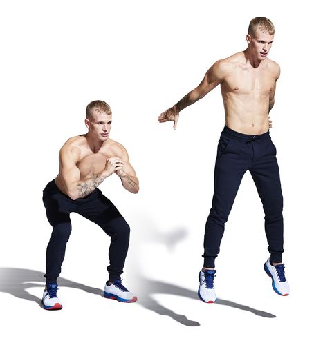 Standing, Arm, Muscle, Sportswear, Leg, Chest, Knee, Fitness professional, Abdomen, Physical fitness,