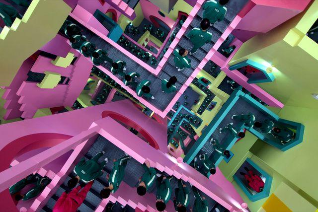 elle decor  squid game production design