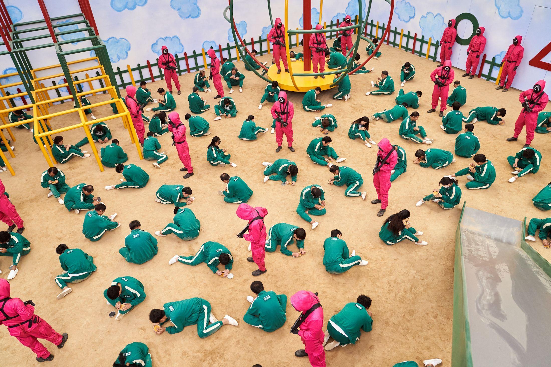 Ďalšia z hier, ktorej prostredie pripomína detské ihrisko (Foto: marieclaire.com)