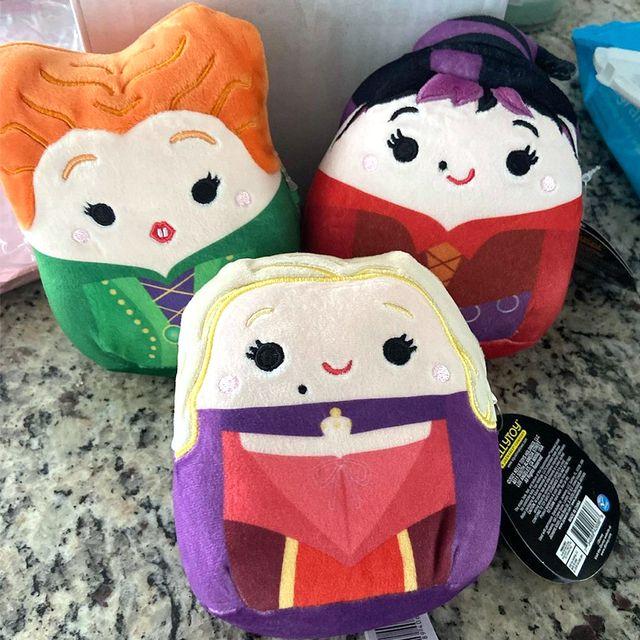 hocus pocus sanderson sisters squishmallows