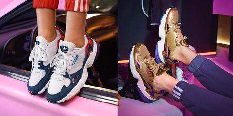 adidas, adidas originals, 復古老爹鞋Falcon, 愛迪達球鞋,球鞋推薦