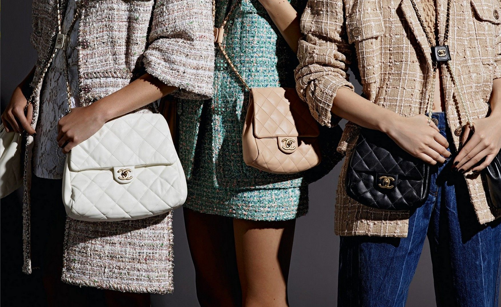 CHANEL, Chanel, Chanel春夏包款, Karl Lagerfeld, 包包, 包款推薦, 卡爾拉格斐, 老佛爺, 錬帶雙包, 香奈兒