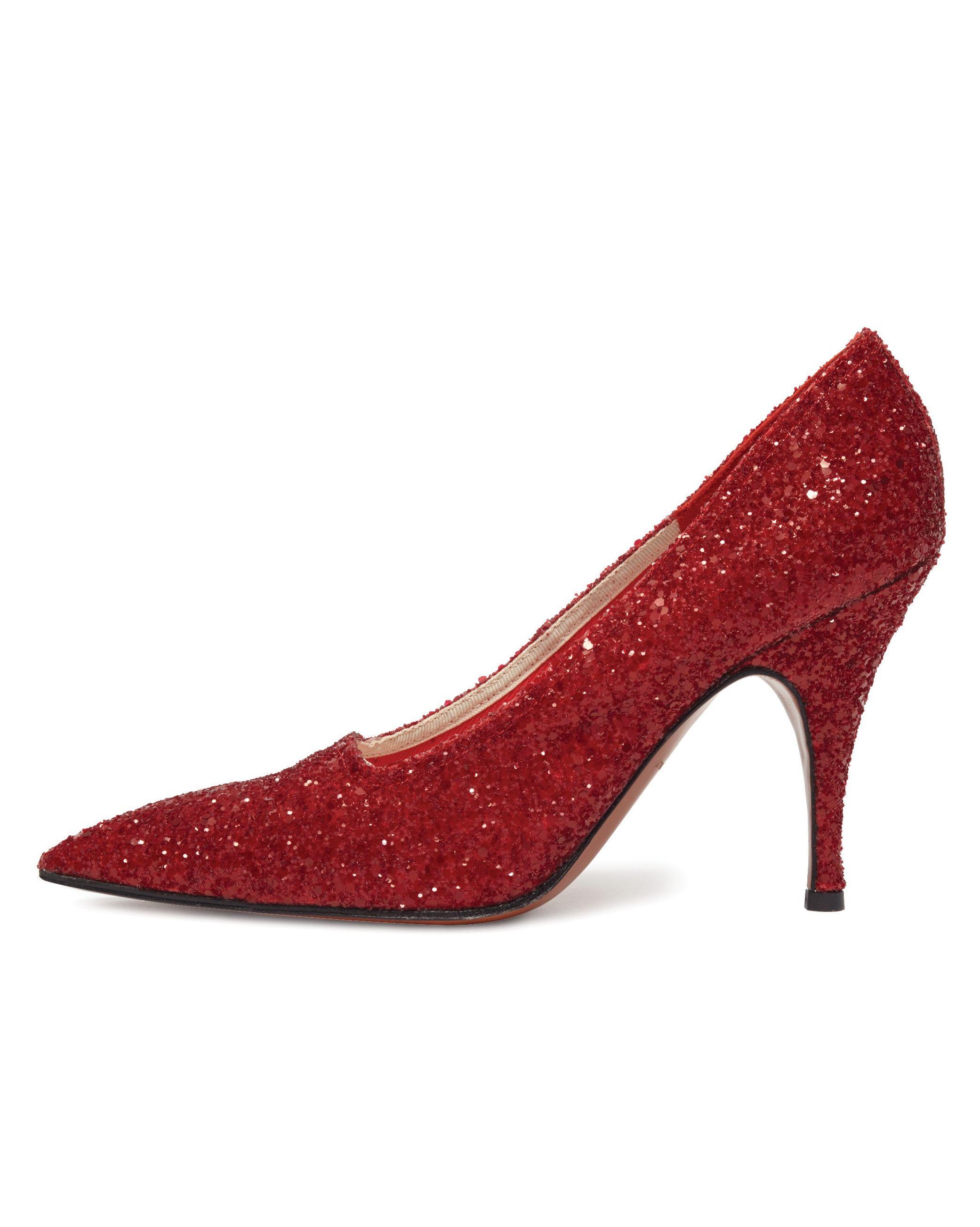 Victoria Beckham glitter shoes