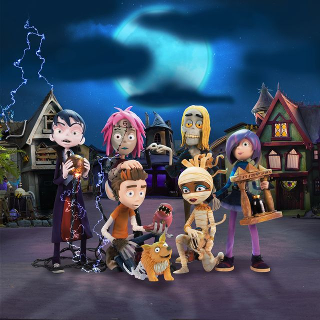 cbbc scream street halloween at home party pack