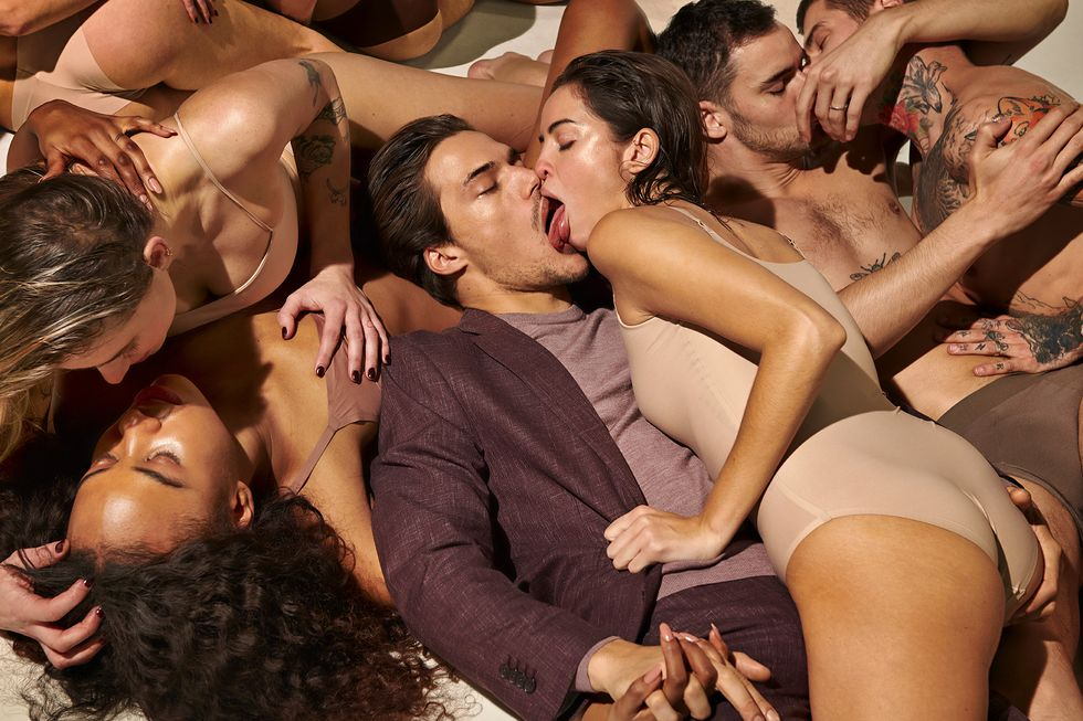 Suitsupply's New Campaign Is Grossing People Out. The Brand Says It's Just About 'Getting Close' Again. thumbnail