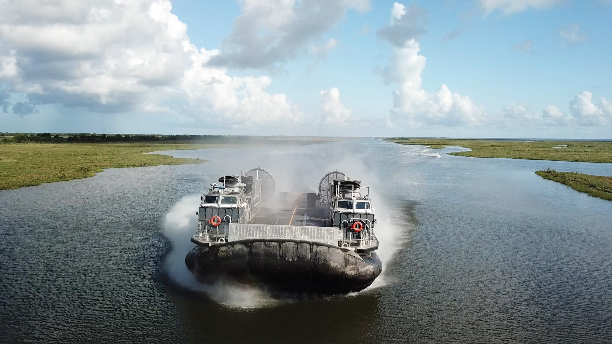 The U.S. Navy Is Ready To Test Its Next-Gen Hovercraft