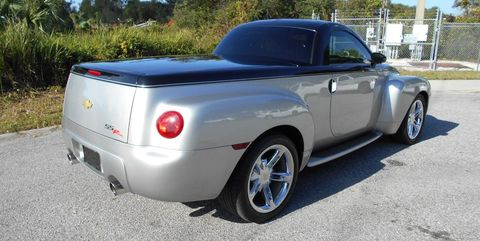 Supercharged Six Speed Chevy Ssr For Sale Retro Chevrolet Pickup Truck On Ebay