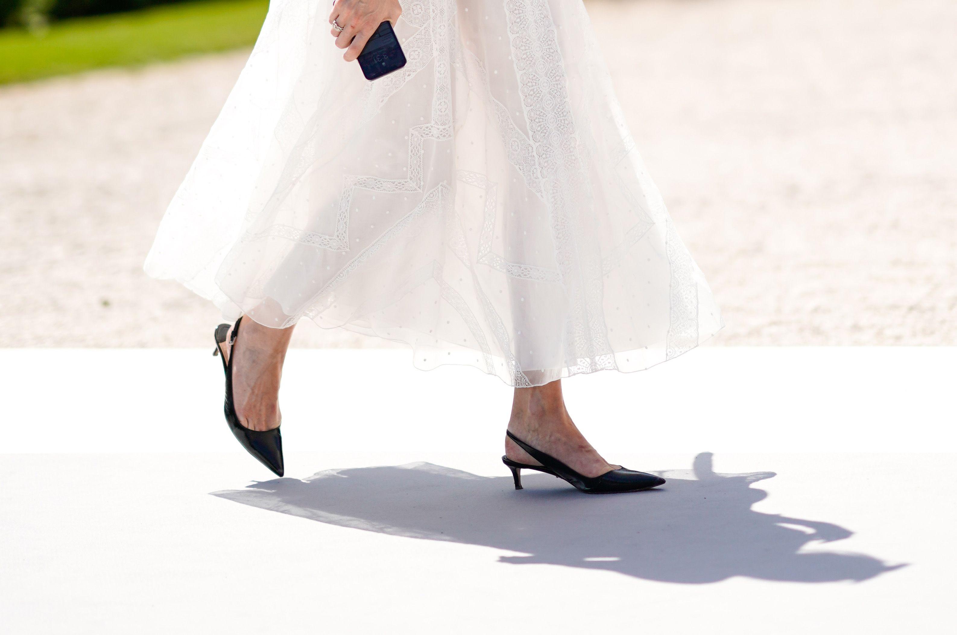 Voce del verbo to SLINGBACK, tendenza delle scarpe moda 2019