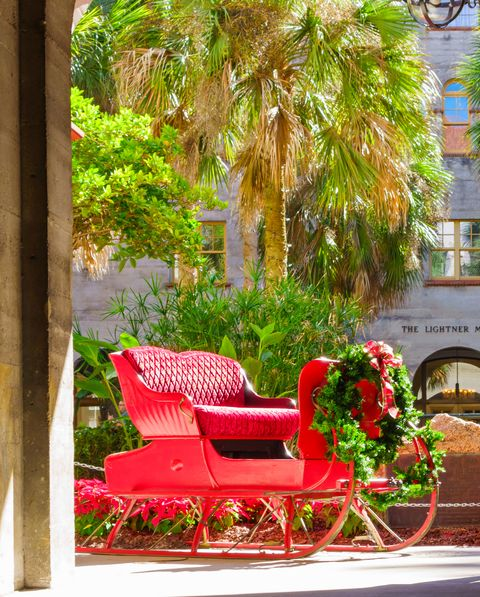 st augustine fl christmas towns
