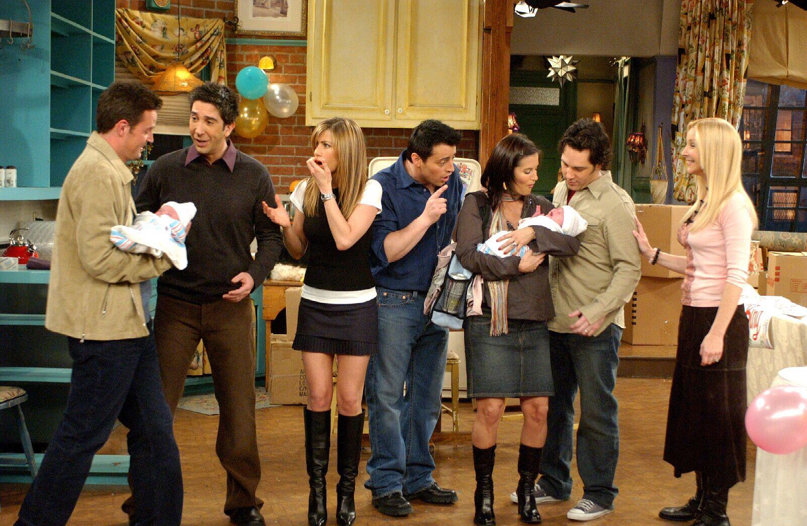 Escena de la serie de tvFriends