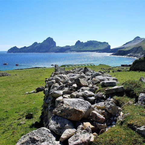 St Kilda - Deserted & Dramatic Sea Cliffs and Sea Stacks