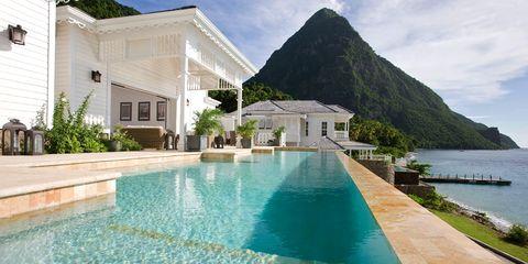 St. Lucia — Caribbean,Sugar Beach, A Viceroy Resort