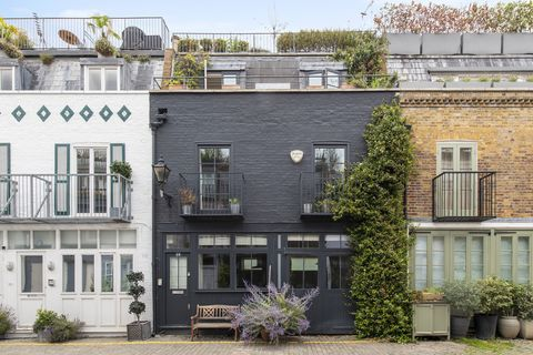london mews house as seen in love actually